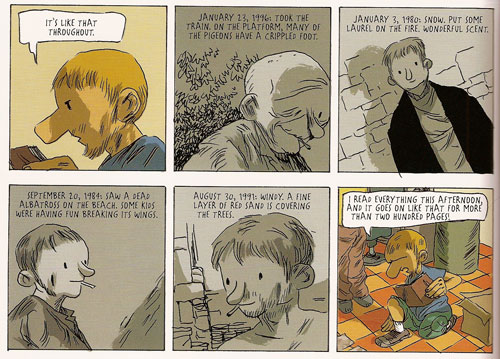 Sequence from Ordinary Victories by Manu Larcenet