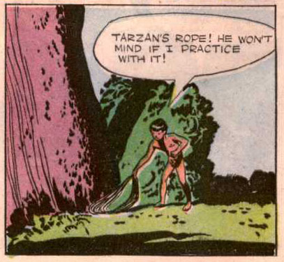 Jesse Marsh from Tarzan #4
