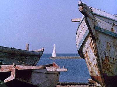 Ozu's Floating Weeds. Lighthouse.