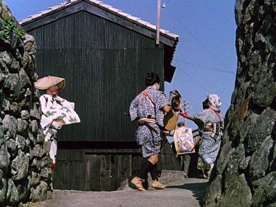 Ozu's Floating Weeds. Alleys.