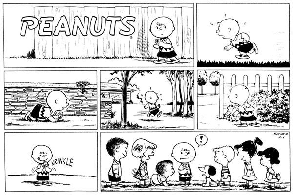 First Peanuts Sunday