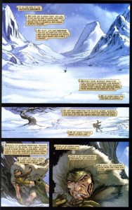 Page from Thor by Matt Fraction