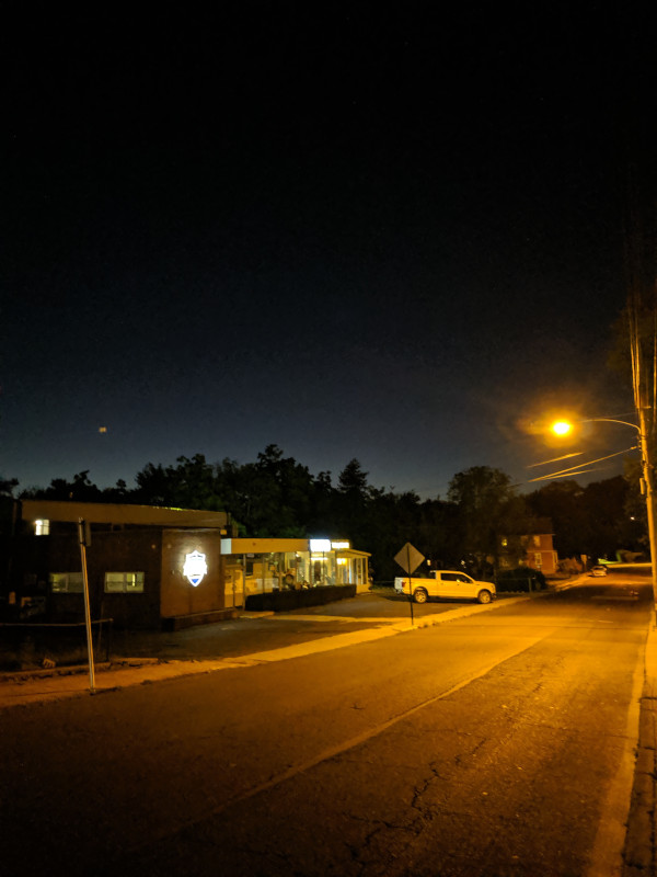 Night walking 1